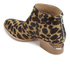 Alexander Wang Women's Kori Leopard Printed Haircalf Ankle Boots - Black/Natural: Image 4