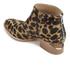 Alexander Wang Women's Kori Leopard Printed Haircalf Ankle Boots - Black/Natural: Image 4