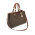 MICHAEL MICHAEL KORS Cynthia Medium Satchel - Brown: Image 3