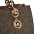MICHAEL MICHAEL KORS Cynthia Medium Satchel - Brown: Image 4