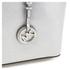 MICHAEL MICHAEL KORS Jet Set Travel Top Zip Tote Bag - Silver: Image 4