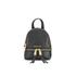 MICHAEL MICHAEL KORS Rhea Zip Small Crossbody Backpack - Black: Image 1