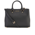 MICHAEL MICHAEL KORS Savannah Satchel - Black: Image 1