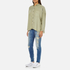 Superdry Women's Tencel Delta Shirt - Salt Wash Khaki: Image 4
