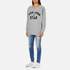 Maison Scotch Women's Wish Upon A Star Boxy Fit Sweatshirt - Grey: Image 4