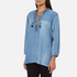 Maison Scotch Women's Drapey Woven Top - Blue: Image 2