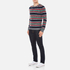Carven Men's Striped Crew Neck Jumper - Multicolore: Image 4
