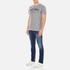 GANT Men's NHCT T-Shirt - Grey Melange: Image 4