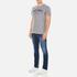 GANT Men's NHCT T-Shirt - Grey Melange: Image 4