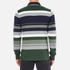 GANT Men's Stripe Heavy Polo Shirt - Pine Green: Image 3