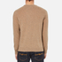 GANT Men's Donegal Crew Neck Knitted Jumper - Dark Sand Melange: Image 3