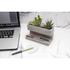 Concrete Desktop Planter and Pen Holder - Large: Image 1
