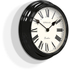 Newgate Gallery Wall Clock - Ebony Black: Image 2