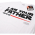 Star Wars Men's Father Lightsaber T-Shirt - White: Image 2