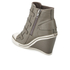 Ash Women's Thelma Leather Wedged Trainers - Perkish: Image 4