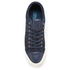 Polo Ralph Lauren Men's Geffrey Suede/Leather Trainers - Navy/Newport Navy: Image 3