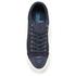 Polo Ralph Lauren Men's Geffrey Suede/Leather Trainers - Navy/Newport Navy: Image 3
