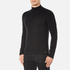 HUGO Men's San Gottardo Quarter Zip Jumper - Black: Image 2
