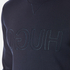 HUGO Men's Dapone Logo Crew Neck Sweatshirt - Navy: Image 5