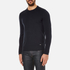HUGO Men's Seiko Biker Detail Jumper - Navy: Image 2