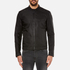 HUGO Mens Bandro Bomber Jacket – Black: Image 1