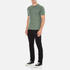 YMC Men's Television T-Shirt - Green: Image 4