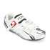 Force Race Carbon Cycling Shoes - White: Image 2