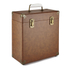 GPO Retro Portable Carry Case for LP Records and 12-Inch Vinyl - Brown: Image 1