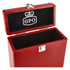 GPO Retro Portable Carry Case for 7-Inch Vinyl Records - Red: Image 4