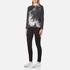 Barbour International Women's Visor Long Sleeve T-Shirt - Dark Grey: Image 4