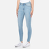 Cheap Monday Women's High Spray Jeans - Stone Bleach: Image 2