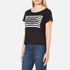 Cheap Monday Women's Had Stripe Logo T-Shirt - Black: Image 2