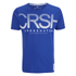 Crosshatch Men's Crusher Graphic T-Shirt - Mazarine Blue: Image 1