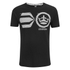 Crosshatch Men's Onsite Graphic T-Shirt - Black: Image 1