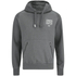 Crosshatch Men's Ozment Borg Lined Hoody - Forged Iron: Image 1