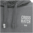 Crosshatch Men's Ozment Borg Lined Hoody - Forged Iron: Image 3