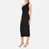 Theory Women's Yuleena Lustrate Midi Dress - Black: Image 4