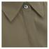 Theory Women's Zallane Summer Silk Sleeveless Shirt with Tie Front - Moss: Image 6