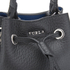 Furla Women's Stacy Rock Mini Drawstring Bag - Black: Image 5