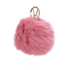 Furla Women's Bubble Keyring Pom Pom - Rose: Image 1