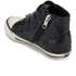 Ash Kids' Fanta Leather Hi Top Trainers - Black: Image 4