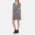 Diane von Furstenberg Women's Irina Dress - Ribbon Rectangles Khaki: Image 2