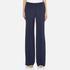 Diane von Furstenberg Women's Katara Trousers - Midnight: Image 1