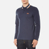 BOSS Green Men's Plisy Long Sleeve Polo Shirt - Blue: Image 2