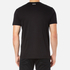 BOSS Green Men's Tee 8 Raised Print T-Shirt - Black: Image 3
