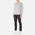 BOSS Green Men's C-Cecil Crew Neck Jumper - Grey: Image 4