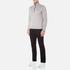 BOSS Green Men's Quarter Zip Sweatshirt - Grey: Image 4