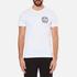Versace Jeans Men's V Logo Print T-Shirt - White: Image 1
