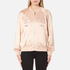 Alexander Wang Women's Souvenir Jacket with Threadwork Embroidery - Blush: Image 1