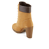 Timberland Women's Glancy 6 Inch Boots - Wheat Nubuck: Image 4